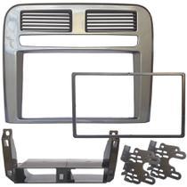 Central Multimidia Fiat Punto 2008 a 2012 com Pioneer DMH-G228BT, Camera de Re, Moldura Cinza Sequest e Interface -