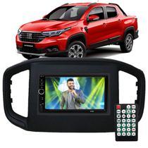 Central Multimídia Fiat Strada 2020 2021 Espelhamento Andoid Ios Bluetooth Rádio - First Option