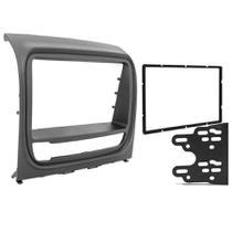 Central Multimidia Fiat Strada Adventure 2013 a 2014 com Pioneer DMH-G228BT, Camera de Re, Moldura Cinza e Interface -