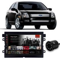 Central Multimídia Ford Fusion 2006 a 2009 Espelhamento iOS Android Full Touch 7 Polegadas USB Bluetooth FM + Câmera de Ré - Premium
