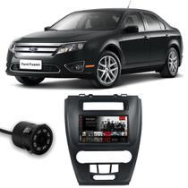 Central Multimídia Ford Fusion 2010 a 2012 Espelhamento iOS Android Full Touch 7 Polegadas USB Bluetooth FM + Câmera de Ré - Premium