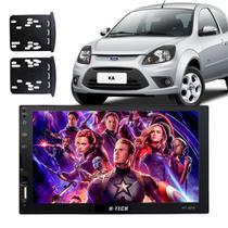 Central Multimidia Ford Ka BT Espelha Android IOS Aux USB SD - H-tech