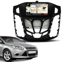 Central Multimídia Ford New Focus 14 15 7 Pol SYNC iOS TV Digital Bluetooth GPS CD DVD - Icone