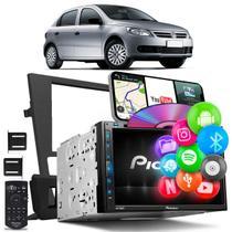 Central Multimídia Gol Voyage Saveiro Pioneer AVH-Z5280TV 2 Din TV BT USB Espelha Android iOS -