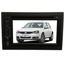 Central Multimidia Golf 2002 03 04 05 06 07 08 09 10 11 12 13  14 GPS TV Camera Espelhamento Usb Sd - X3automotive