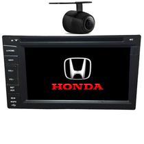 Central Multimidia Honda Civic 2001 02 03 04 05 06 GPS TV Camera BT Usb Sd  Espelhamento - X3automotive