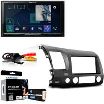 Central Multimídia Honda New Civic 2006 a 2011 com Pioneer AVH Z9180TV e Câmera De Ré