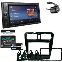 Central Multimidia Jac J3 2013 em Diante com Pioneer DMH-G228BT, Camera de Re, Moldura e Interface -