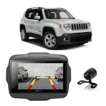 Central Multimídia Jeep Renegade 2015 a 2020 Pioneer 8 Polegadas Espelhamento BT USB SD TV + Câmera de Ré