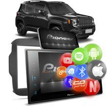 "Central Multimídia Jeep Renegade 2019 a 2021 2 Din 8"" BT Espelha Android Iphone Pioneer DMH-ZS8280TV -"