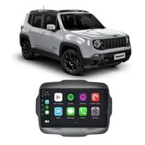 """Central Multimídia Jeep Renegade PCD 2015 em diante 9"""" Full Glass Android Quadcore 16GB -"""