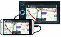 """Central Multimídia JVC KW-V30BT com Tela de 6"""" Touch, USB, Entradas HDMI, MHL e Bluetooth -"""