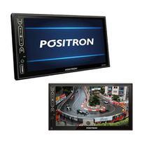 Central multimidia mirror connect sp8840dt tv digital bluetooth usb sd aux - Positron