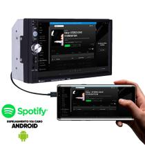 Central Multimídia Mp5 2din 7 Bluetooth Usb Fm - Dex
