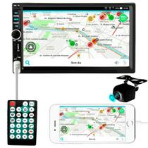Central Multimídia Mp5 2din Bluetooth Camera De Ré Colorida - Aguia Power