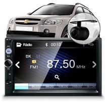 Central Multimídia Mp5 Capitiva Câmera Espelhamento Bluetooth Usb -