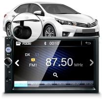 Central Multimídia Mp5 Corolla G1 Câmera Bluetooth Espelhamento