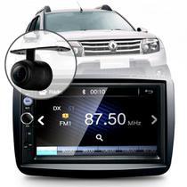 Central Multimídia Mp5 Duster Oroch Pcd Câmera Bluetooth Espelhamento -