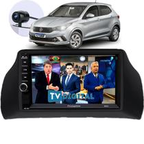 Central Multimídia Mp5 Fiat Argo Rádio 2 Din Bluetooth com Tv Digital - First Option
