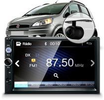 Central Multimídia Mp5 Fiat Idea Câmera Bluetooth Espelhamento -