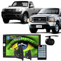 Central Multimídia Mp5 Ford Ranger F250 00/12 D720BT Moldura Bluetooth Câmera Ré - Exbom