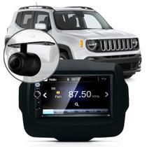 Central Multimídia Mp5 Jeep Renegade Pcd Câmera Espelhamento -