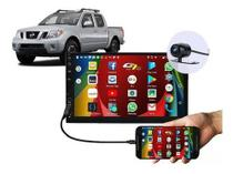 Central Multimidia Mp5 Nissan Frontier 2008 A 2017 Bluetooth USB Espelhamento Android IOS - Roadstar