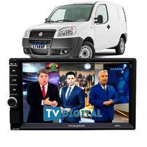 Central Multimídia Mp5 Tv Fiat Doblo Usb Esp Ios Bt Rádio - First Option