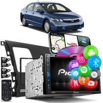 Central Multimídia Nem Civic 07 a 11 Pioneer AVH-Z5280TV 2 Din TV BT USB Espelha Android iOS -