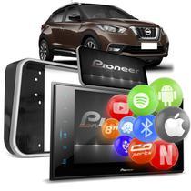 """Central Multimídia Nissan Kicks 2017 a 2021 2 Din 8"""" BT Espelha Android Iphone Pioneer DMH-ZS8280TVN -"""