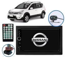 Central Multimídia Nissan Livina Gran Livina 2011 2012 2013 2014 2015 2016 2017 Espelhamento Android Ios Radio Fm Bluetooth Usb + Moldura Câmera de Ré - First Option