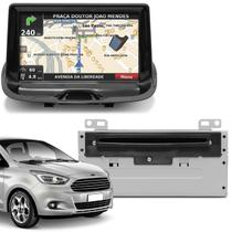 Central Multimídia Novo Ford Ka Hatch Ka+ Sedan 14 a 18 7 Pol SYNC Bluetooth GPS USB DVD AUX - Icone
