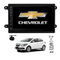 Central Multimídia Onix 2012 13 14 15 16 17 18 19 Mp5 2 din tela 7 fm usb aux bluetooth espelhamento - X3automotive