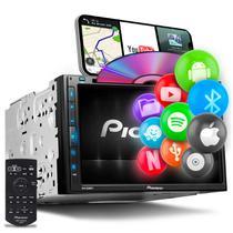 """Central Multimídia Pioneer 2 Din AVH-Z5280TV 6.8"""" TV Bluetooth Espelhamento Android Iphone DVD MP3 -"""