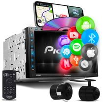 "Central Multimídia Pioneer 2 Din AVH-Z5280TV 6.8"" TV BT Espelhamento Android Iphone DVD + Câmera Ré -"