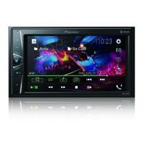 Central Multimídia Pioneer 2 DIN DMH-G228BT Tela Touch 6.2 Bluetooth USB Rádio AMFM -