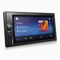 "Central Multimidia Pioneer 2 din MVH-G218BT LCD 6,2"" - Touch Bluetooth USB Auxiliar -"