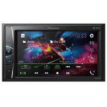 Central Multimídia Pioneer 2DIN 6.2, Bluetooth, Entrada USB - MVH-G218BT