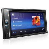 Central Multimidia Pioneer AVH-G218BT 6.2 Polegadas 2 DIN Bluetooth Auxiliar USB -
