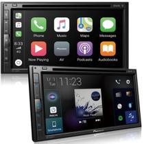 """Central Multimídia Pioneer AVH-Z5280TV 2 DIN DVD Tela Touch 6,8"""" USB BT TV Digital -"""