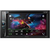 Central Multimídia Pioneer AVHG228BT Tela 6.2 Touch Cd Dvd Bluetooth USB Aux FM -