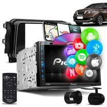 "Central Multimídia Pioneer Kicks 2 Din AVH-Z5280TV 6.8"" TV BT Espelhamento Android Iphone +Câmera Ré -"