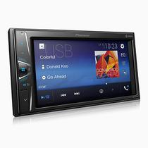 """Central Multimidia Pioneer  MVH-G218BT 2Din 6,2"""" Touch BT USB AUX -"""