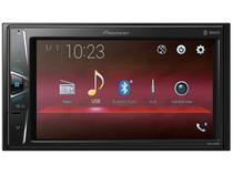 "Central Multimídia Pioneer MVH-G218BT LCD 6,2"" - Touch Bluetooth USB Auxiliar"