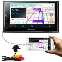"Central Multimídia Pioneer SPH-DA138TV 6.2"" Bluetooth Interface iOS TV + Cam Ré Colorida Tartaruga -"