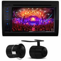 """Central Multimídia Pósitron SP8530 6.2"""" Espelhamento Bluetooth USB CD DVD MP3 + Câmera 2 em 1 - Positron"""