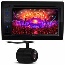 """Central Multimídia Pósitron SP8530 6.2"""" Espelhamento Bluetooth USB CD DVD MP3 + Câmera Ré Colorida - Positron"""