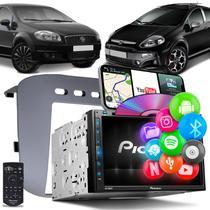 Central Multimídia Punto Línea Pioneer AVH-Z5280TV 2 Din TV BT Espelhamento Android iOS Preto Fosco -