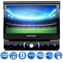 Central Multimidia Retrátil Pósitron SP6730DTV Bluetooth DVD MP3 USB - Positron