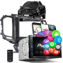 Central Multimídia Toro Pioneer AVH-Z5280TV 2 Din TV BT USB Espelhamento Android iOS Black Piano -